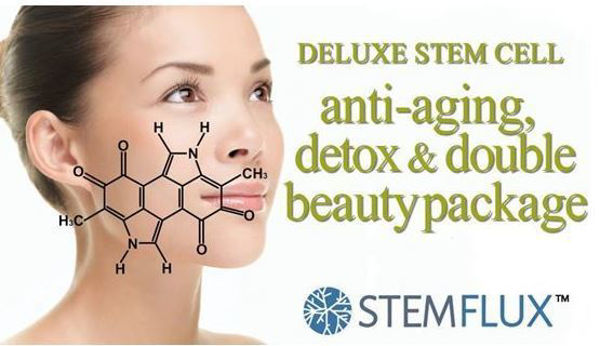 Picture of Deluxe Stem Cell Anti-Aging, Detox & Double Beauty Package (14 Day Program)