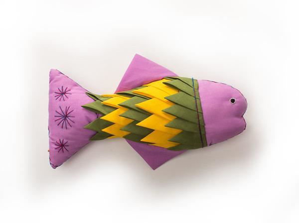 Picture of Friendly Fish Plush Toy