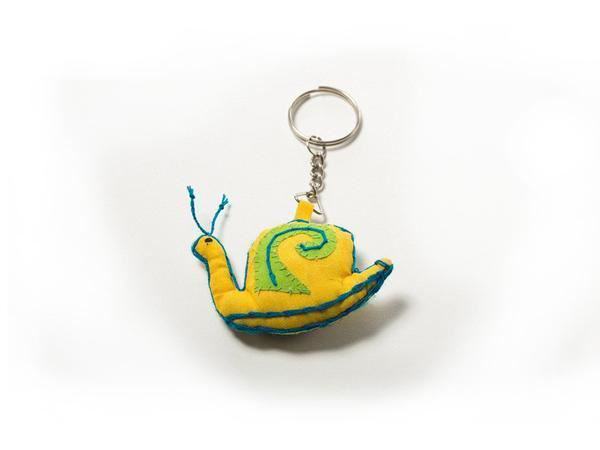 Picture of Speedy Snail Keyring