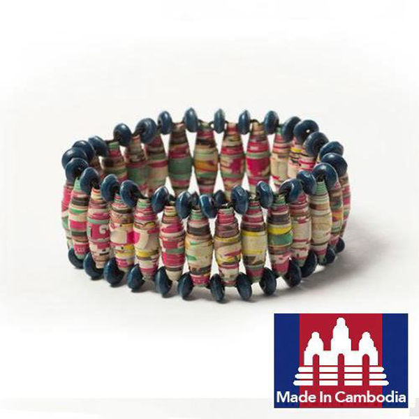 Picture of Cocoon Linked Paper Bracelet