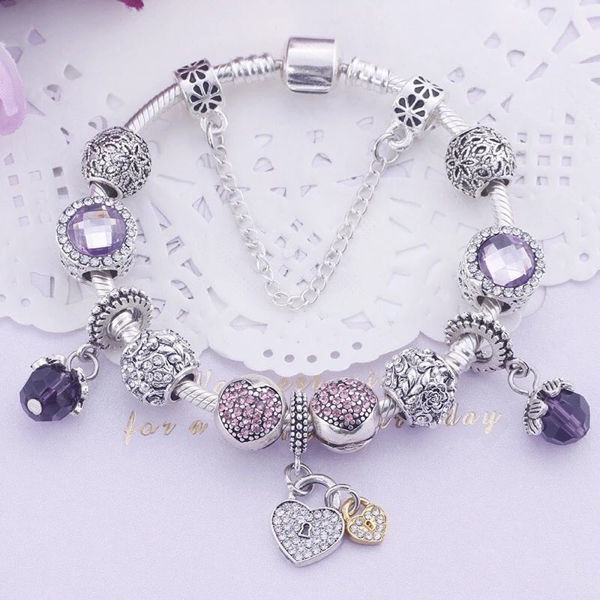 Picture of Mary Gems Silver 925  Bracelet