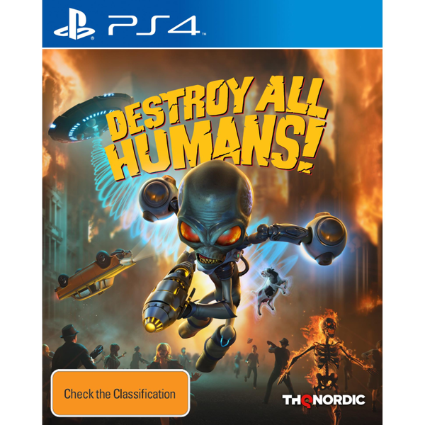 Picture of Destroy All Humans! - PS4