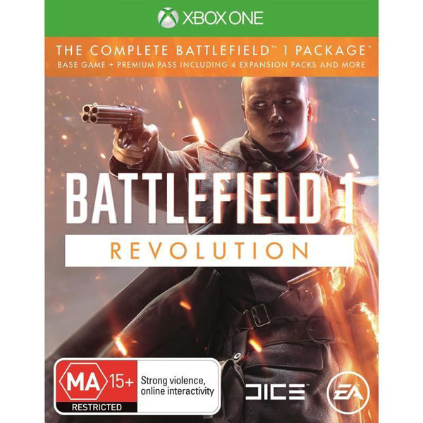 Picture of Battlefield 1 Revolution Edition - XboxOne