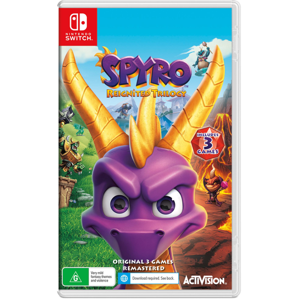 Picture of Spyro Reignited Trilogy  - Nintendo Switch