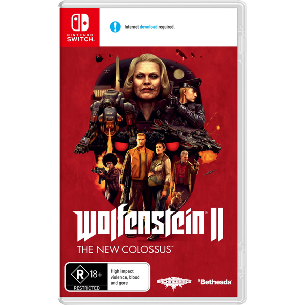 Picture of Wolfenstein II: The New Colossus - Nintendo Switch
