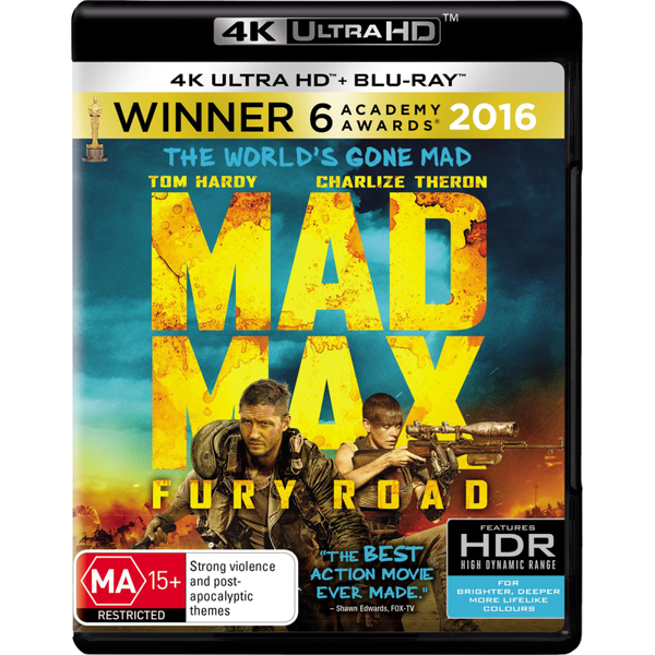 Picture of Mad Max: Fury Road - 4K Ultra
