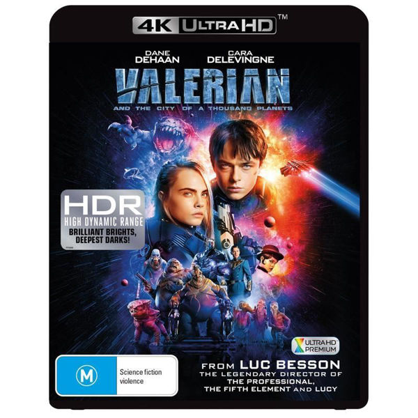 Picture of Valerian And The City Of A Thousand Planets - 4K Ultra