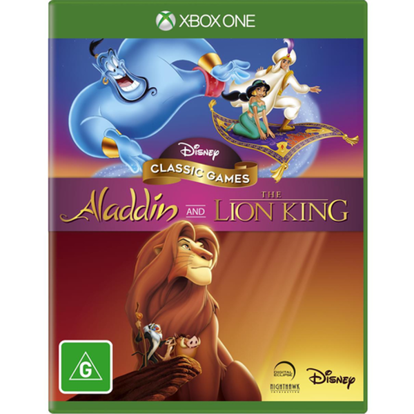 Picture of Disney Classic Games - Aladdin and The Lion King  - XboxOne