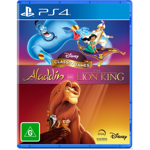 Picture of Disney Classic Games - Aladdin and The Lion King  - PS4