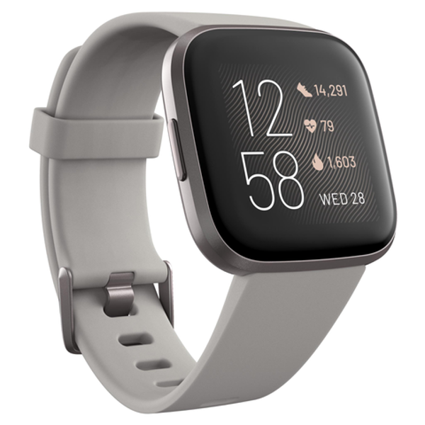Picture of Fitbit Versa 2 Smart Fitness Watch (Stone Mist/Grey)