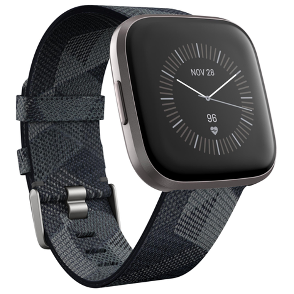 Picture of Fitbit Versa 2 Smart Fitness Watch Special Edition (Smoke Woven)