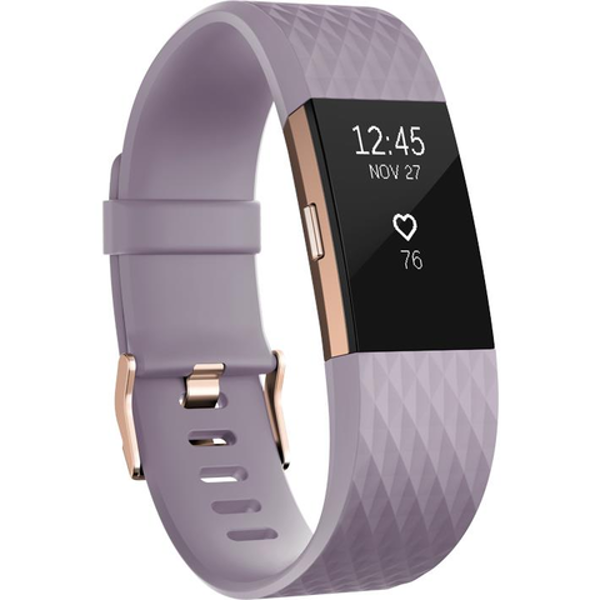 Picture of Fitbit Charge 2 Special Edition (Lavender & Rose Gold/Large)