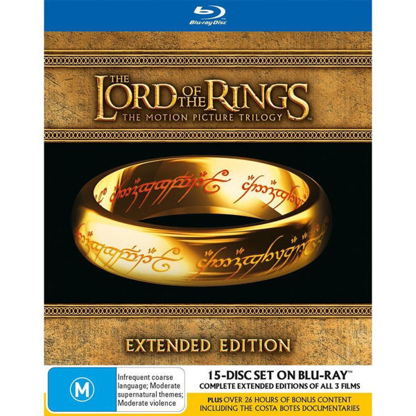 Picture of Lord Of The Rings Trilogy - (Extended Edition) - BluRay