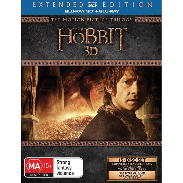 Picture of The Hobbit : The Motion Picture Trilogy (Extended Edition) - BluRay