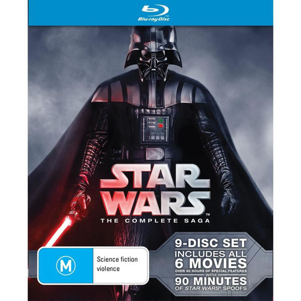 Picture of Star Wars: The Complete Saga - BluRay
