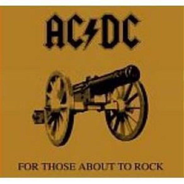 Picture of AC/DC 1981 - For Those About To Rock(We Salute You)  CD