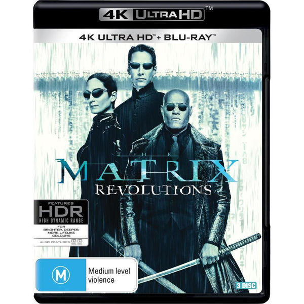 Picture of The Matrix Revolutions - 4K Ultra