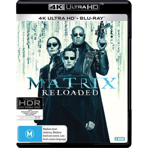 Picture of The Matrix Reloaded - 4K Ultra