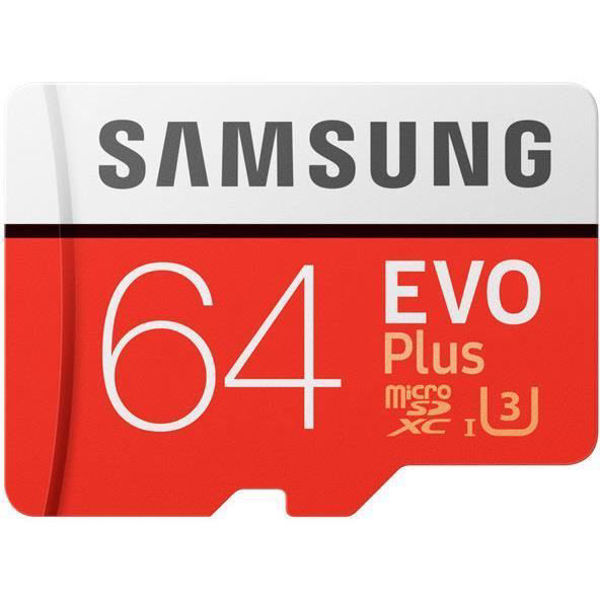 Picture of Samsung EVO Plus 64GB MicroSD Card SDXC U3
