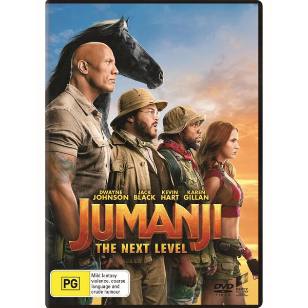 Picture of Jumanji: The Next Level - DVD