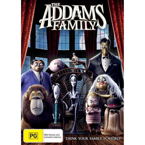 Picture of The Addams Family - DVD