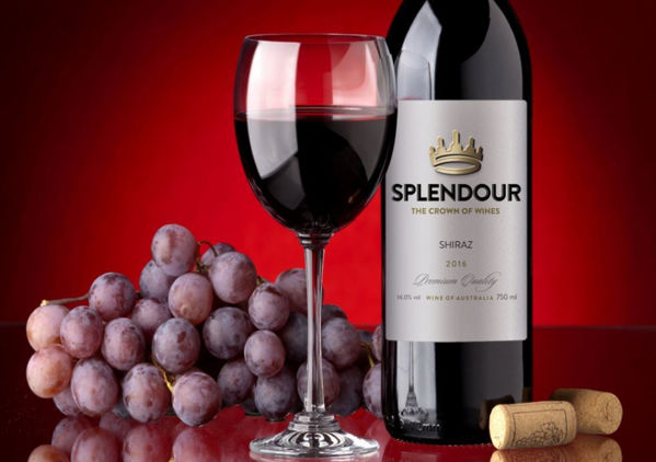 Picture of Wine Bottle -Splendour Shiraz