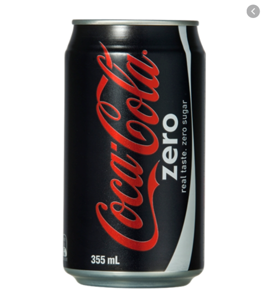 Picture of Soft Drink - Coke Zero Can
