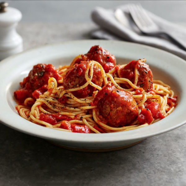 Picture of Pasta - Meat Balls Spaghetti with Tomato Sauce