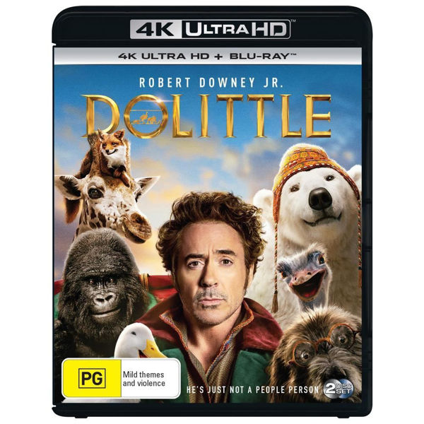 Picture of Dolittle - 4K Ultra Blu-Ray