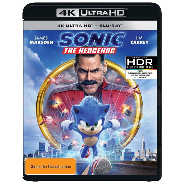 Picture of Sonic The Hedgehog - 4K Ultra Blu-Ray