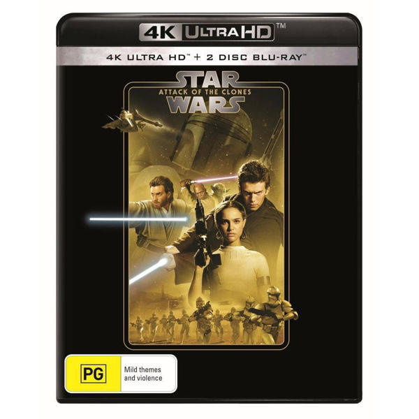 Picture of Star Wars: Episode II – Attack of the Clones - 4K Ultra Blu-Ray